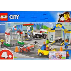 Констр. LEGO Сити Автостоянка мастерская