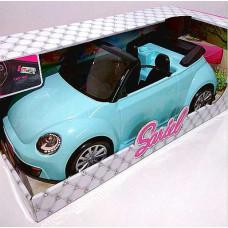 Машина для барби Кабриолет голубой