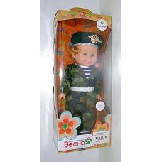 Кукла Весна 36см Митя Пограничник
