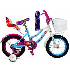 Велосипед '18' Роз. с корзиной