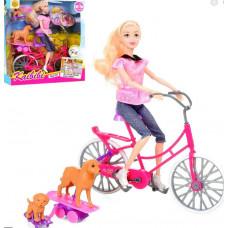 Кукла + велосипед