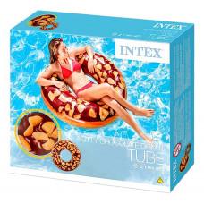 Над. Круг 114см Intex Пончик Шоколадный ЛЦ