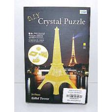 Пазл 3D крист. Эйфелева башня