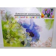 Наб. для тв. Алмазная мозайка 40*50 Цветы