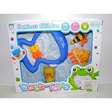 Игрушка для ванной рыбалка сачок