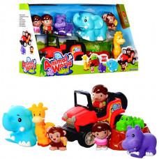Keenway Животные Сафари с машинкой