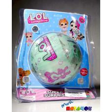Кукла ана в шарике 15см Цветные