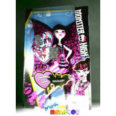 Кукла Маттел Монстр Дракулора в платье трансформер