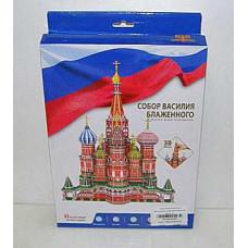 Пазл 3D CubicFun Собор Василия Блаженного