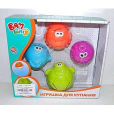 Игрушка для купания набор животных ДУШ