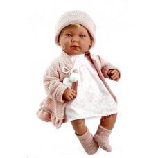 Кукла Испания ARIAS 45см,звукРозовое платье