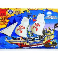 Констр. Brick Пиратский корабль 486дет