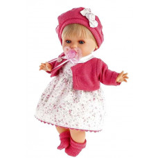 Кукла Antonio Juan 30см Кристиана в малиновом озв.