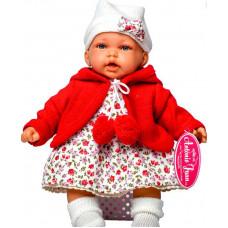 Кукла Antonio Juan 27см Азалия в красном озвучен