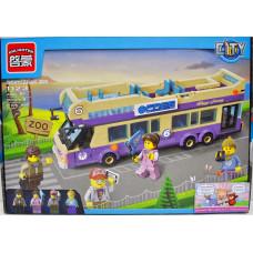 Констр. Brick Роз. Экскурсионный автобус 455дет