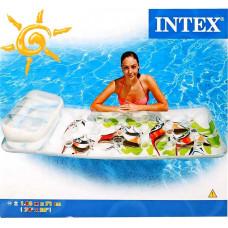 Над. матрац с рыбками intex