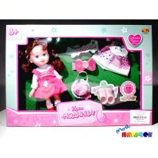 Кукла ABtoys с одеждой