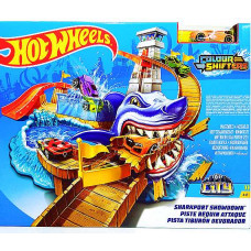 Трек Hotwheels Поединок с акулой