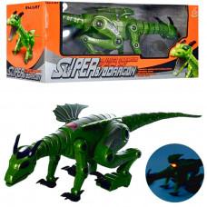 Динозавр на бат. Робозавр