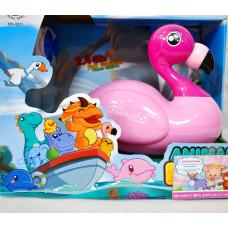 Игрушки для воды р/у плав. Фламинго