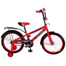 Велосипед '18' МустангЮниор Красный