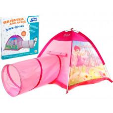 Палатка с тоннелем 170*112*94 Дом феечки
