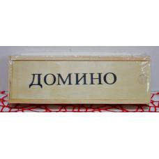 Домино дер. пенал Точки