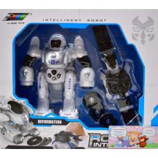 Робот Интеллегент трансф. + часы