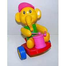 Каталка  Слон с барабаном