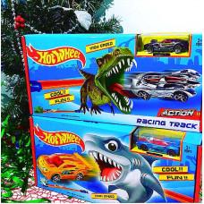 Трек HW мини Акула/Динозавр