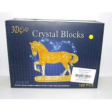 Пазл 3D крист Лошадь
