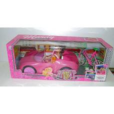 Машина для Барби + велосипед 2 кукл и питомцы