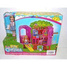Дом Барби Маттел Челси на дереве с куклой