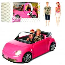 Машина для барби Кабриолет + пара