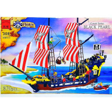Констр. Brick Пиратский корабль 870 дет.