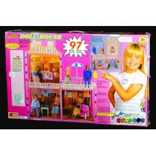 Дом Барби 3х ком балкон 97пр_