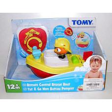 Игрушка для ванной Пожарный катер ру TOMY