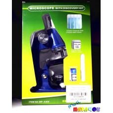 Микроскоп 100*450 Маленький Ученый