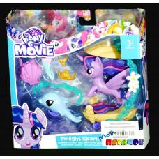 Пони Hasbro Русалка с дельфином Мерцание