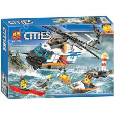 Констр. Сити 439дет Спасательный вертолет