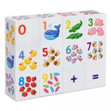 Кубики 12шт 10 Корол. Ассорти