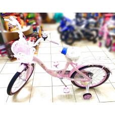 Велосипед '20' Роз. с корзиной Принцесса