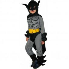Костюм Карнавал Бетмен с маской и поясом