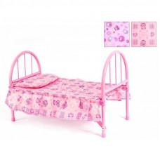 Кровать для куклы мет. складн.