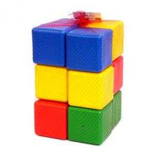 Кубики констр. строитель 12шт