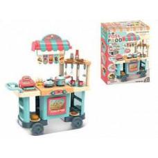 Кухня 91*80*33 Кухня+ касса на колесах