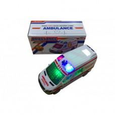 Муз. Машина 3D свет Скорая
