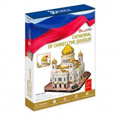 Пазл 3D CubicFan Храм Христа Спасителя ЛЦ