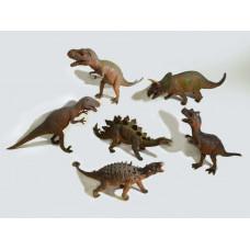 Животные Динозавр 25/30см Твердый штучно